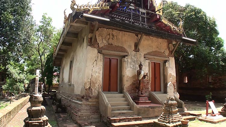 The old Ubosoth, Wat Choeng Tha