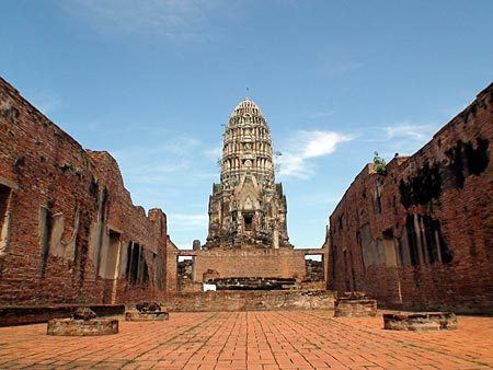Ayutthaya : Getting there, getting around Town. Comments ...