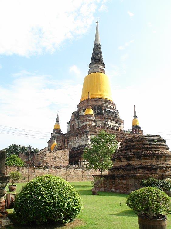 Pictures of Wat Yai Chai Mongkol (Mongkhon), Ayutthaya ...
